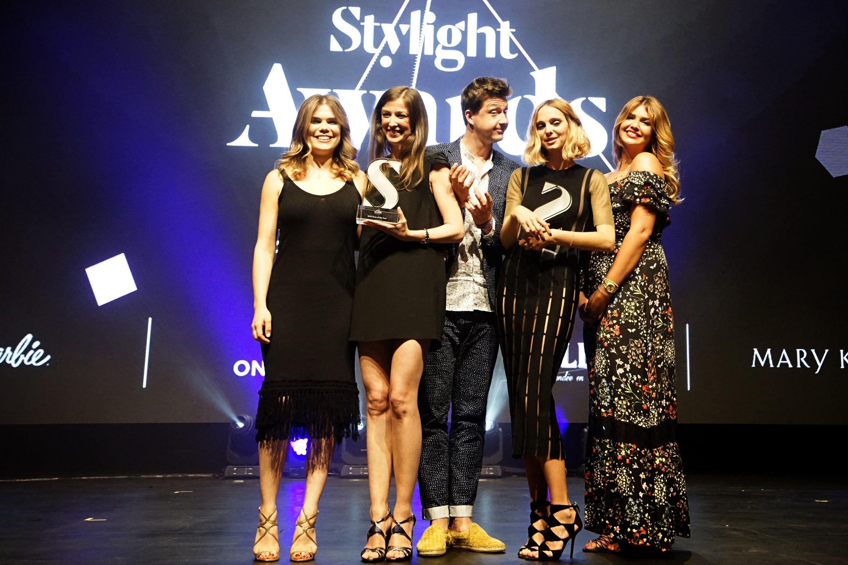 Stylight Awards 2016 Winners - Madeleine Shaw, Alexandra Maria Lara, Yvan Rodic, Candela, Nova Lana Love