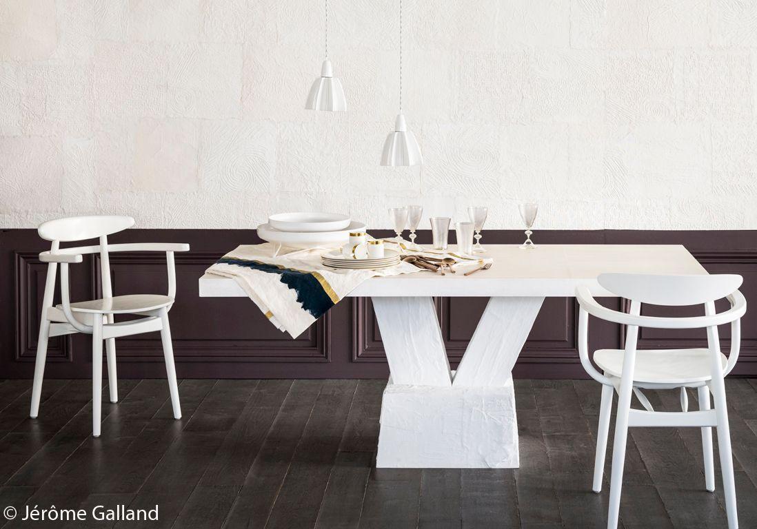 table-en-bronze-blanche