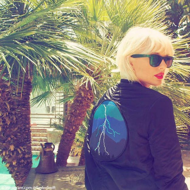 Taylor Swift blonde platine