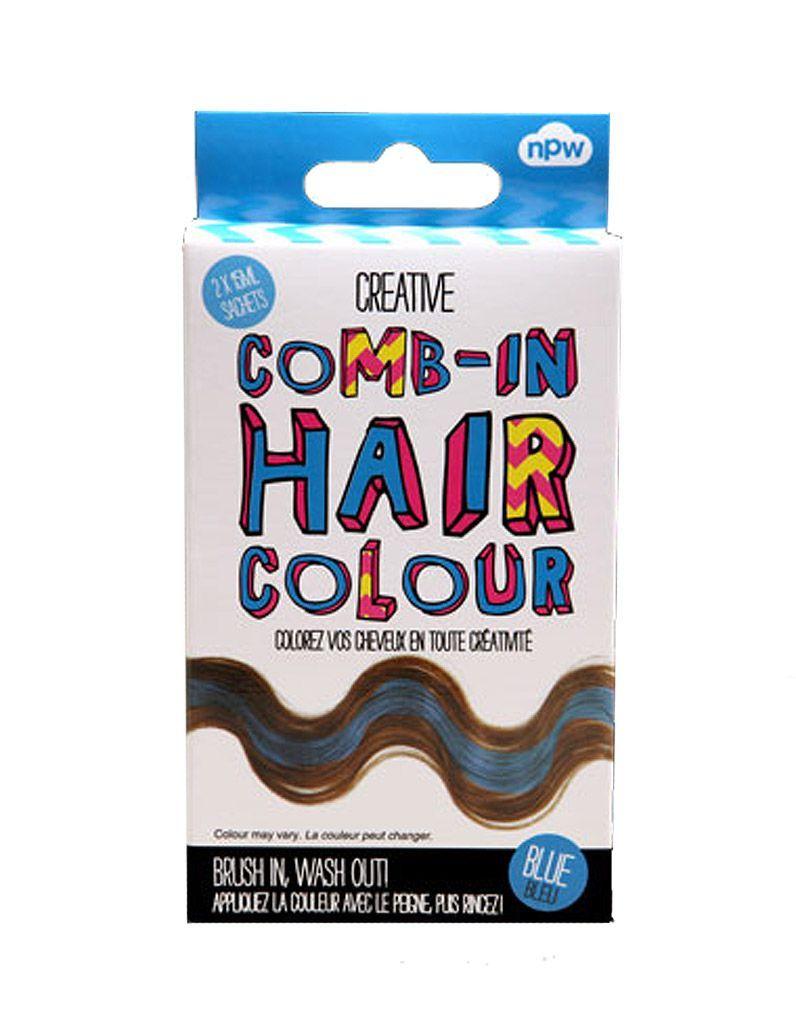 Teinture-temporaire-pour-cheveux,-Creative-Comb-in