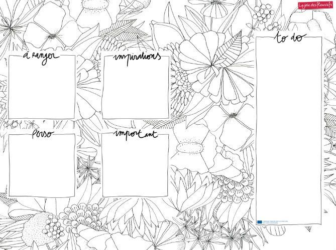 Téléchargez votre fond d'écran organiseur La joie des fleurs (image_1)