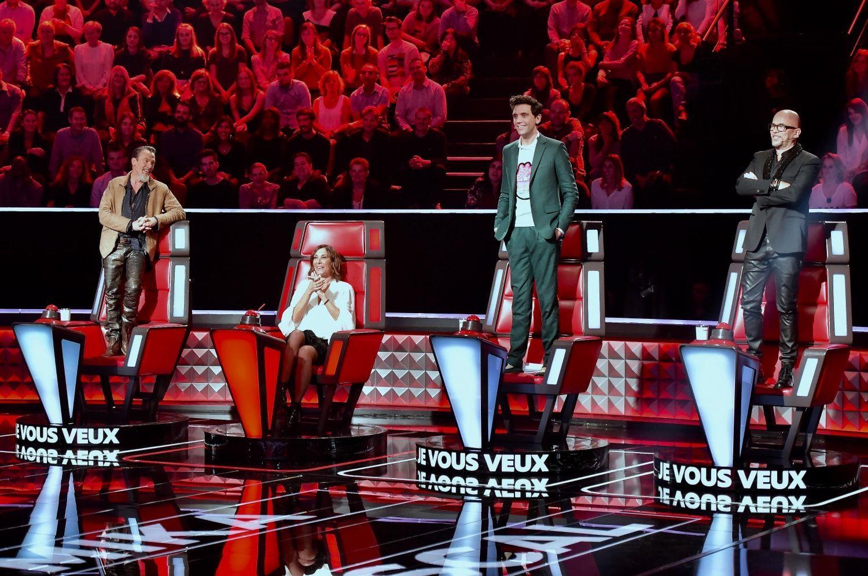 The voice le jury