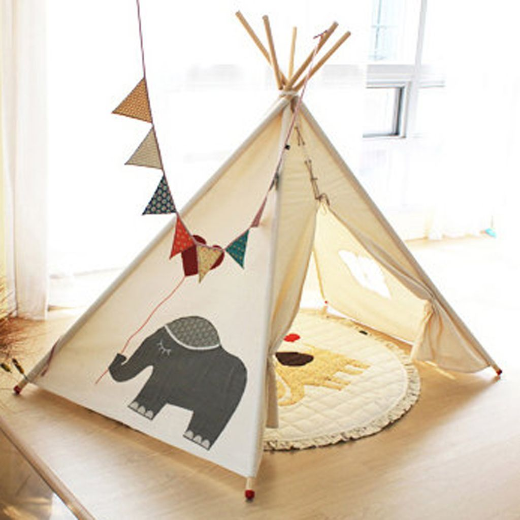 d coration tipi pour chambre d 39 enfant elle d coration. Black Bedroom Furniture Sets. Home Design Ideas
