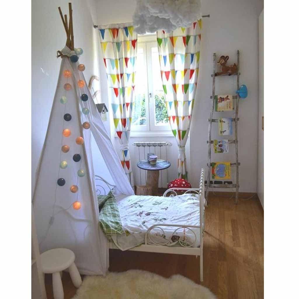 Tete De Lit Voile décoration tipi pour chambre d'enfant - elle décoration