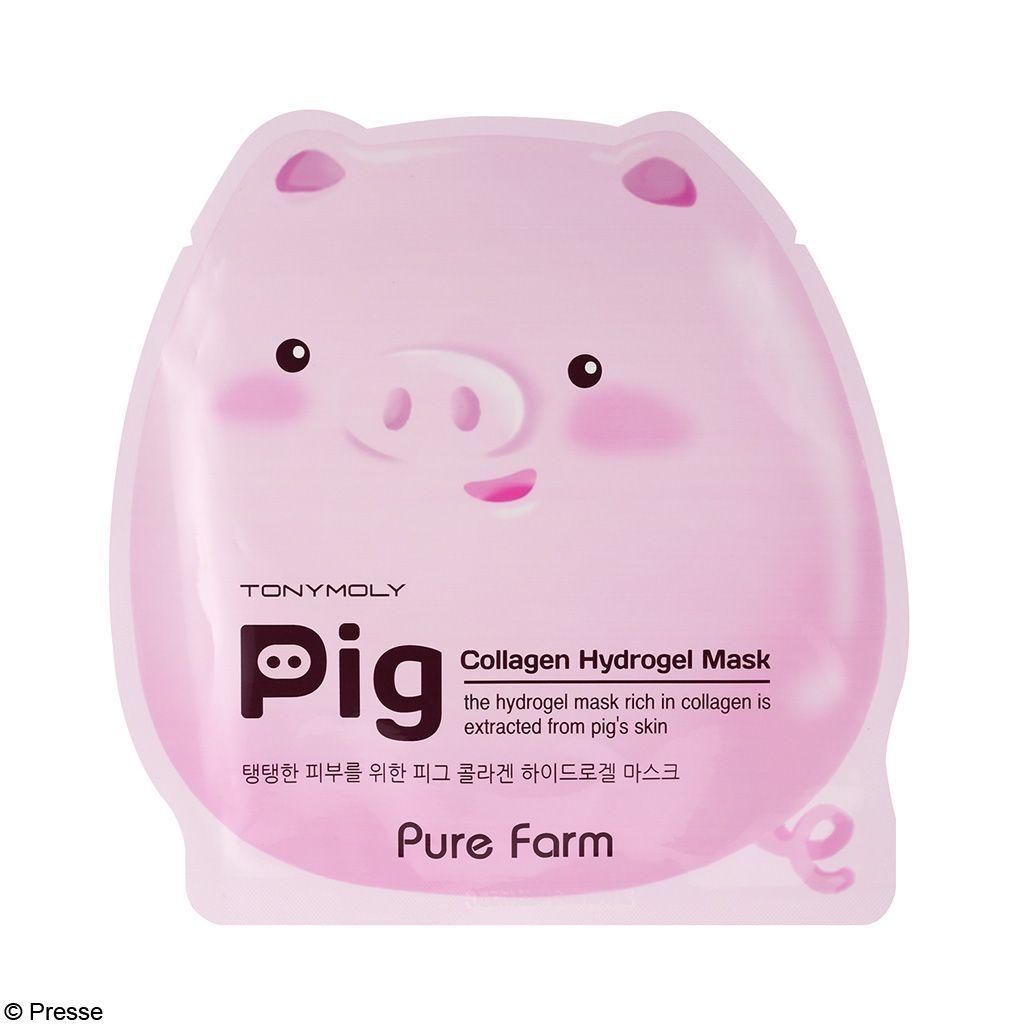 [TONYMOLY]-Pure-Farm-Pig-Collagen-Hydrogel-Mask-1sheet_1
