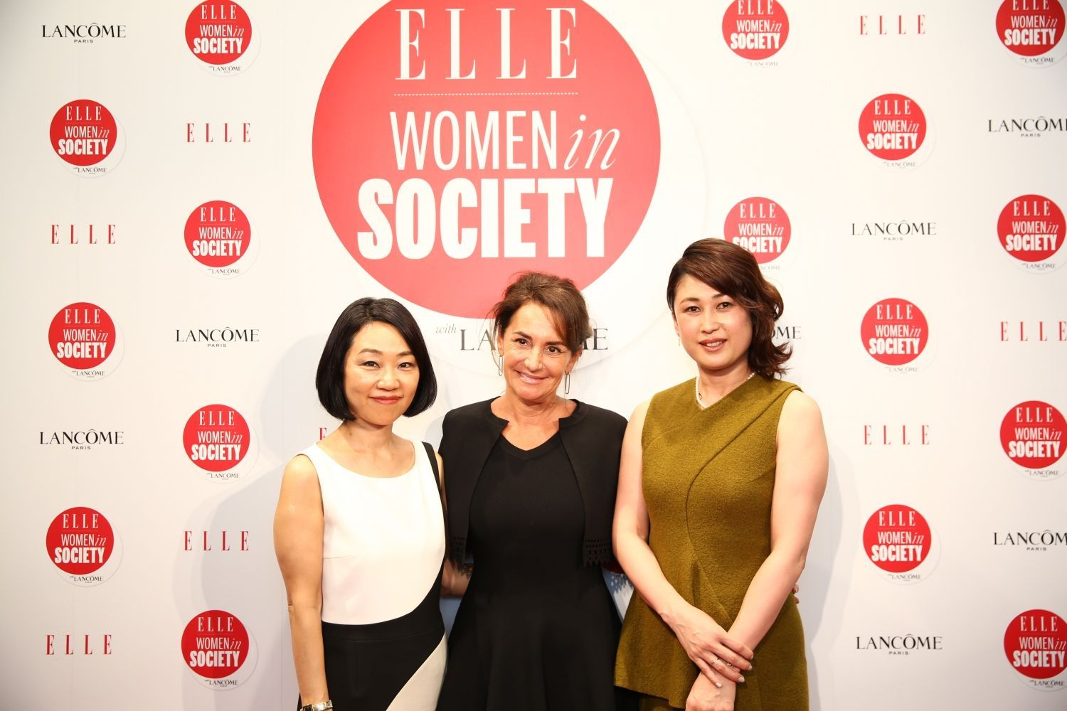 TSUK1227 Akiko Mori (ELLE Japan Publisher) - Constance Benque (ELLE France and International CEO) - Kanako Sakai (ELLE Japon Editor in Chief)