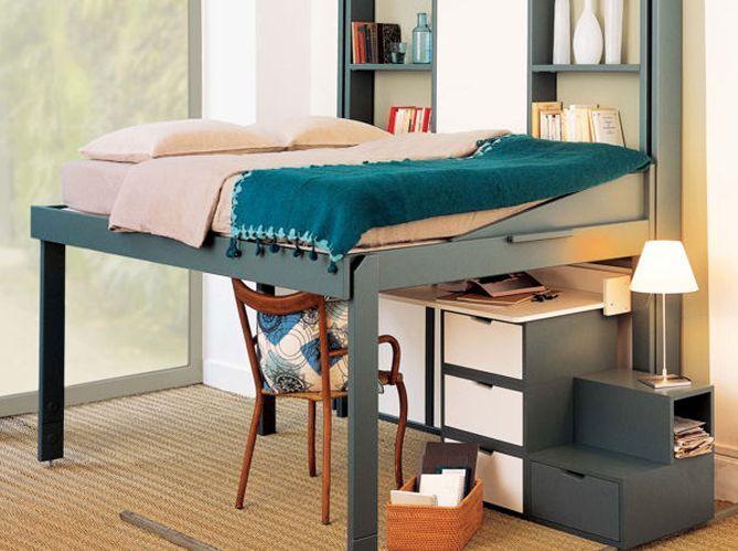 Un espace de rangement sous le lit (image_2)