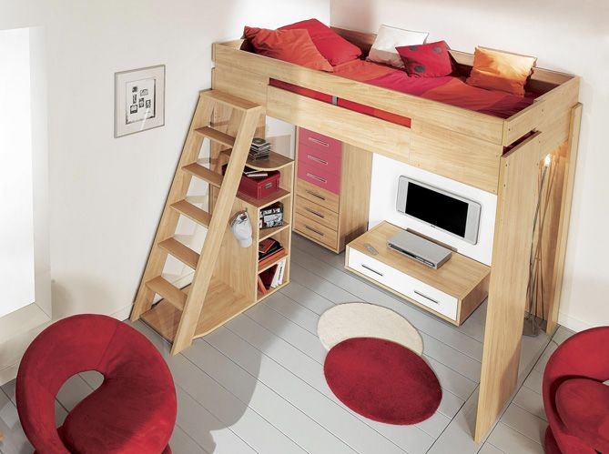 Tendance: le lit mezzanine - Elle Décoration