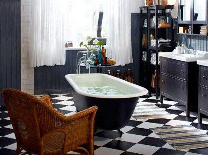Une baignoire à l\'ancienne pour ma salle de bains - Elle Décoration