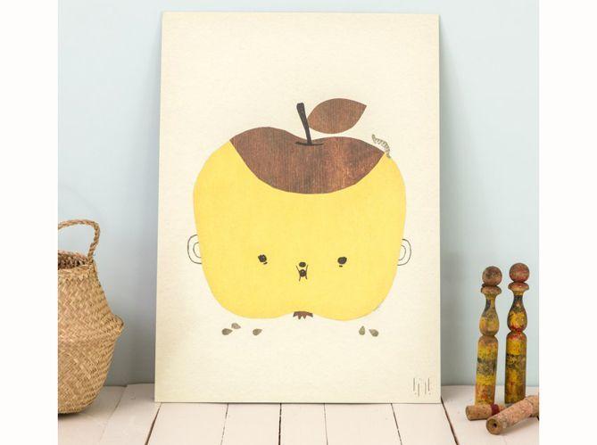 Une chambre d'enfant jaune moutarde (image_5)