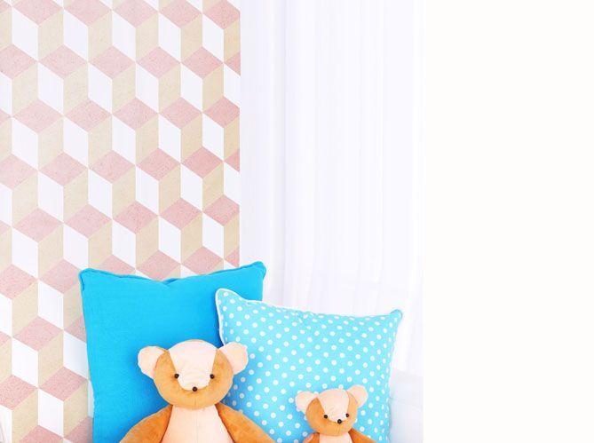Une chambre d'enfant rose pâle (image_2)