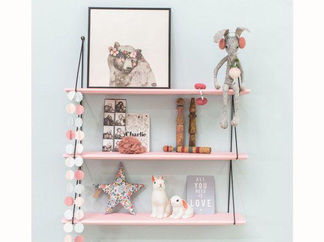Une chambre d'enfant rose pâle (image_3)