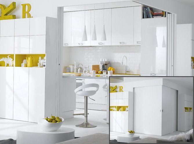Une cloison pour isoler l'espace cuisine (image_4)
