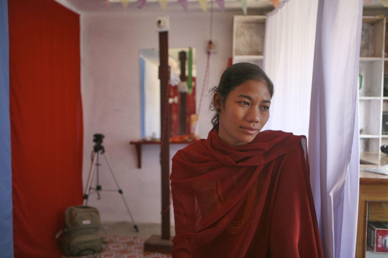 Urmila Chaudhary, ancienne kamalari devenue photographe © Plan International - Alf Berg