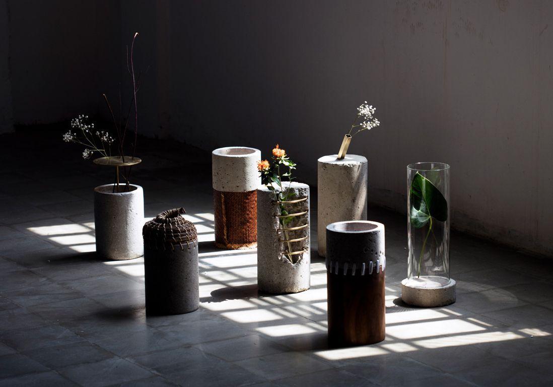 Vases recyclés Paola Sakr