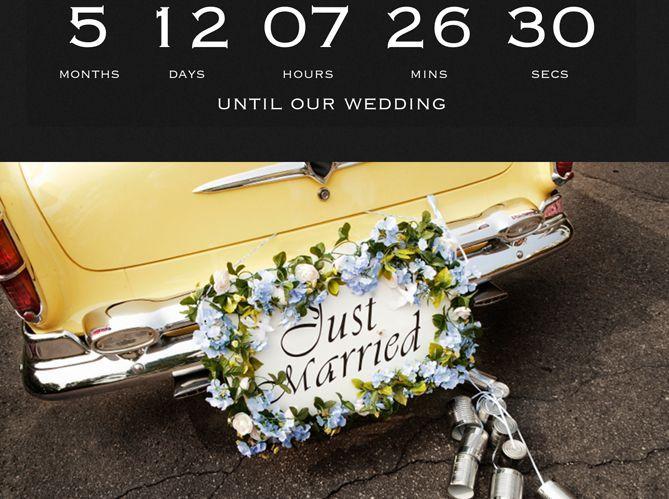 Wedding Countdown, pour le décompte (image_2)