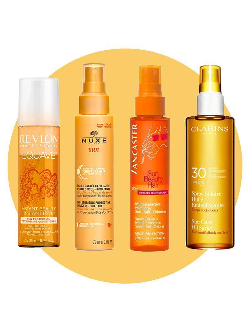 Huiles & sprays solaires : le meilleur pour vos cheveux