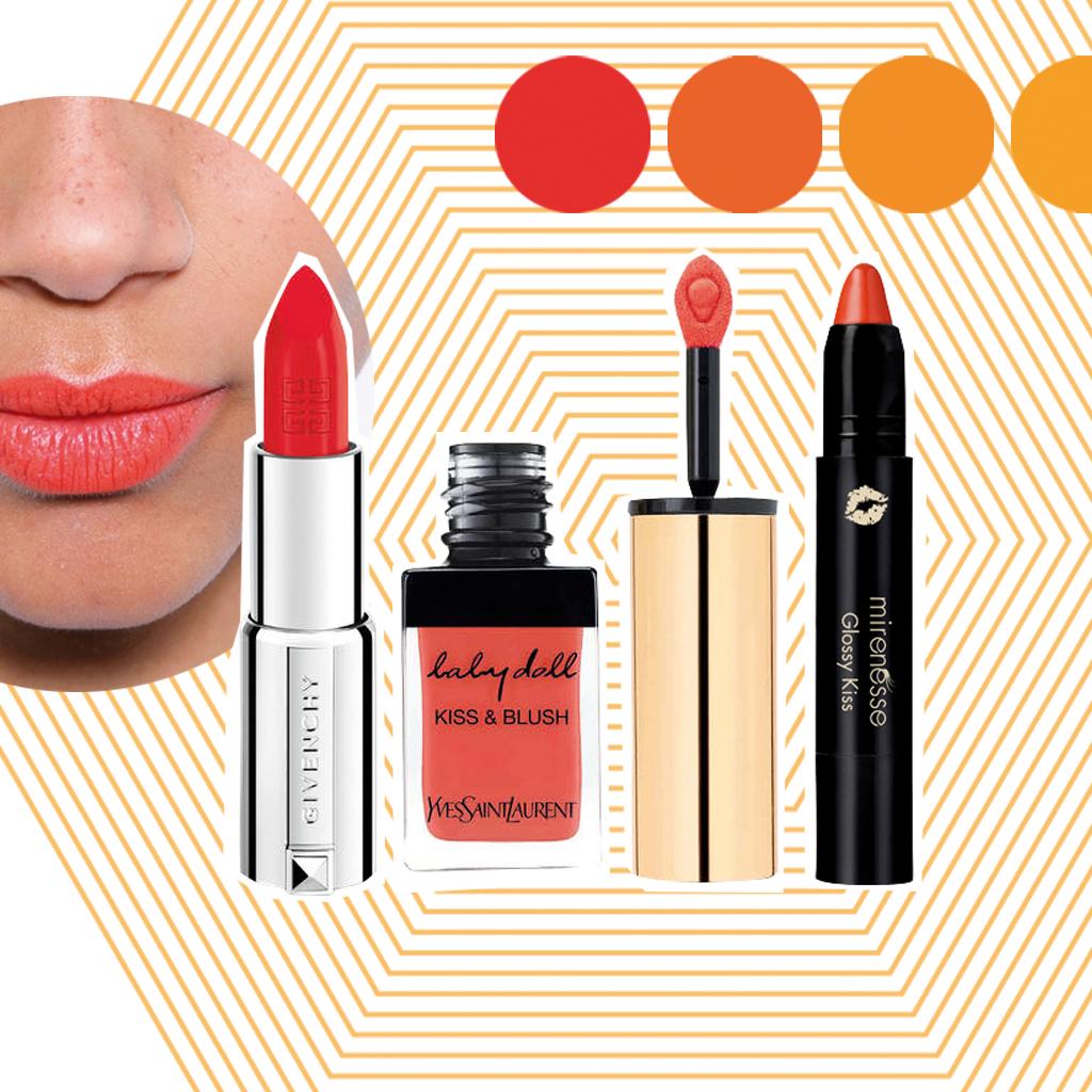 Bouche tangerine : le top 10 des rouges à lèvres vitaminés