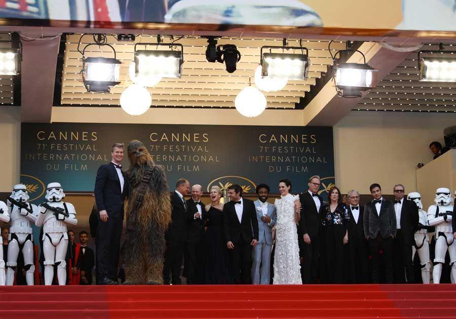 Cannes 2018 : Chewbacca et les Stormtroopers, la Croisette comme vous ne l'avez jamais vue !