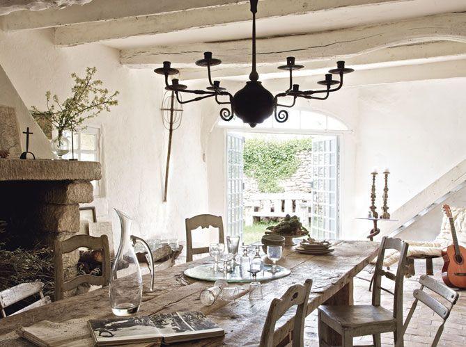 La maison blanche de jos phine ryan elle d coration for Maison deco blanche