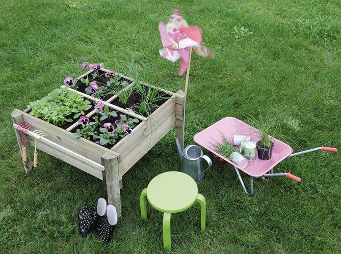 quand le jardinage devient un jeu d enfant elle d coration. Black Bedroom Furniture Sets. Home Design Ideas
