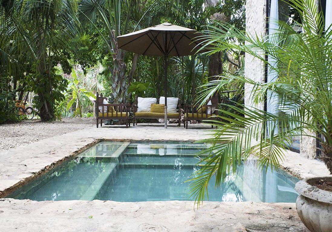 Les mini jardins vont adorer ces petites piscines elle d coration - Maison de jardin design ...