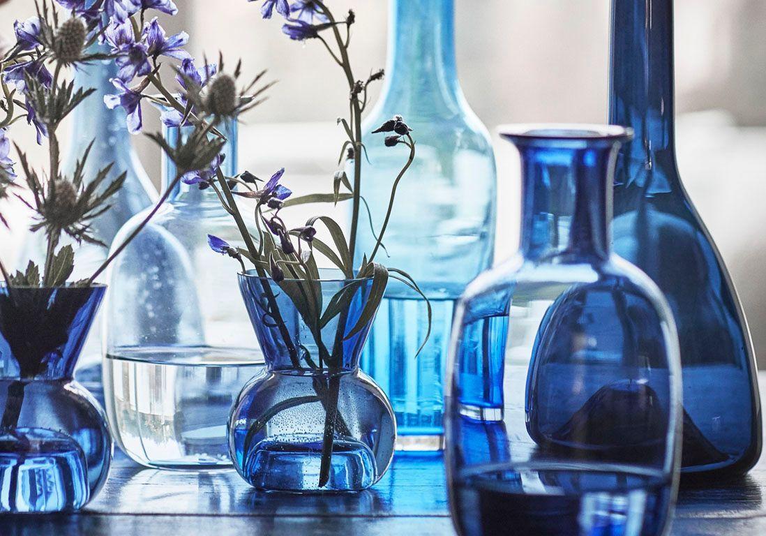 vase pas cher ikea nouveaut s ikea succombez la vague bleue vases for miroirs vague ikea with. Black Bedroom Furniture Sets. Home Design Ideas