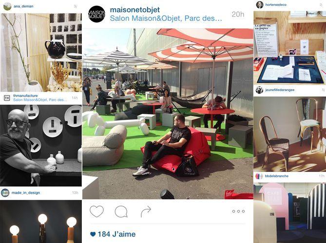 Les Instagram de la semaine : direction Maison&objet