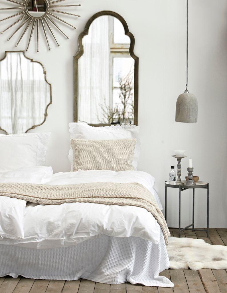 La chambre blanche en 15 façons - Elle Décoration
