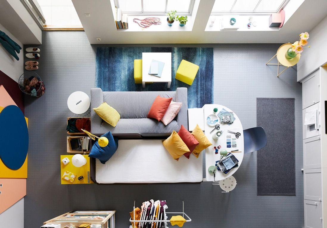 studios les astuces d co pour un lieu de vie canon elle d coration. Black Bedroom Furniture Sets. Home Design Ideas