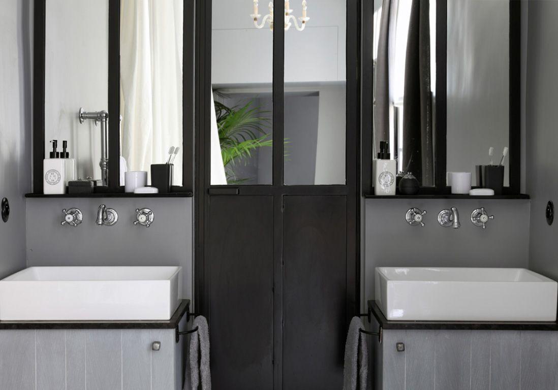 15 nuances de salles de bains grises