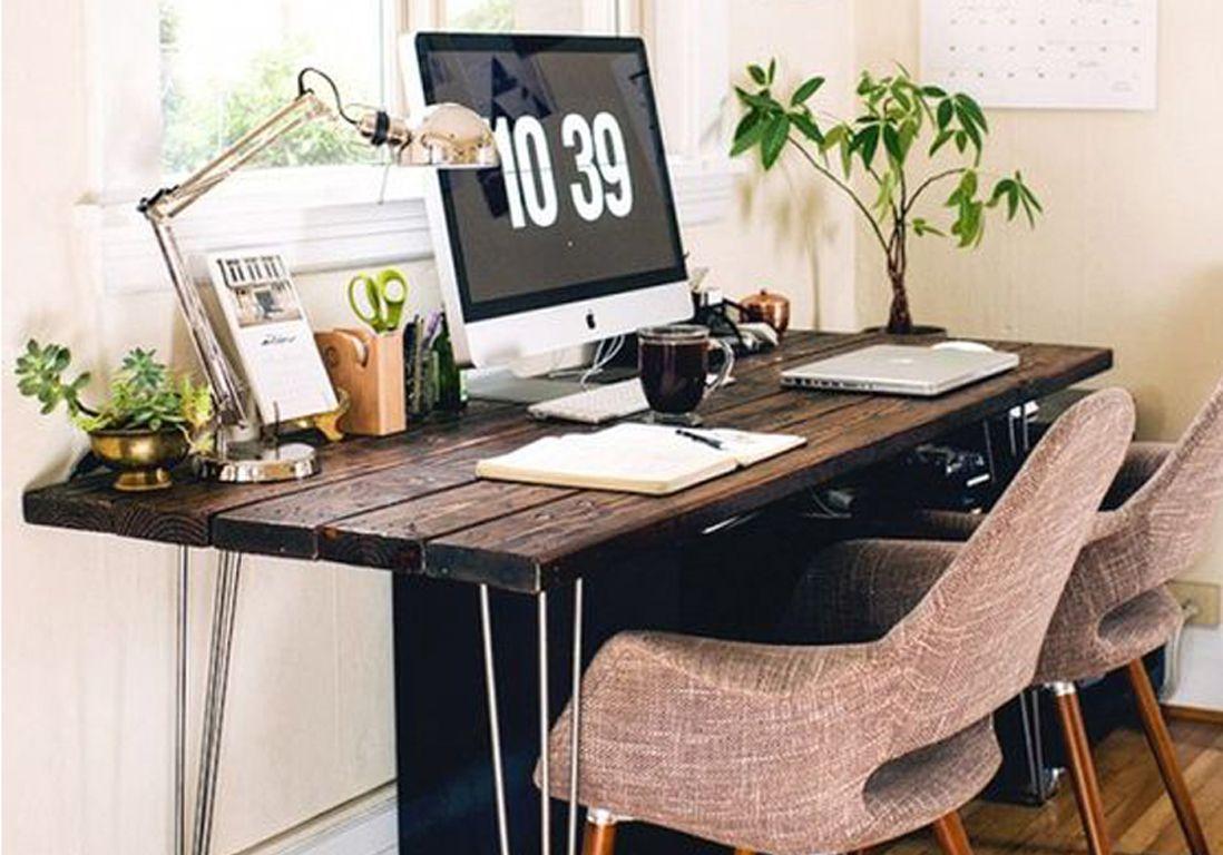 nos id es pour sublimer son bureau elle d coration. Black Bedroom Furniture Sets. Home Design Ideas