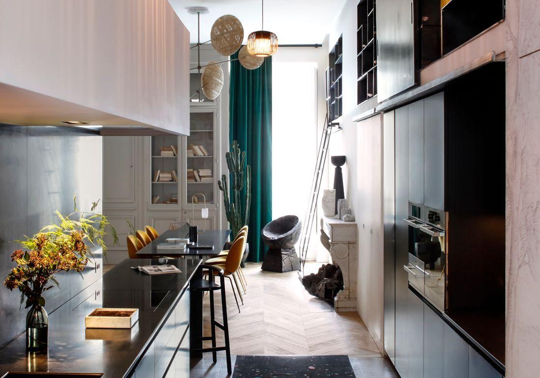Un appartement lyonnais très design