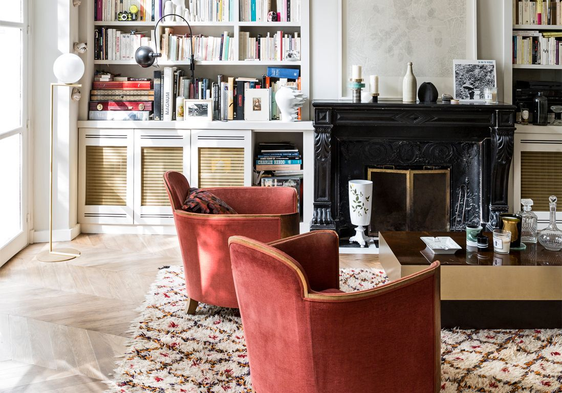 Un appartement romantique entre ville et campagne