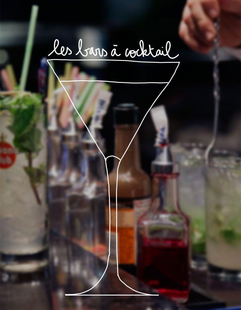 Notre sélection des meilleurs bars à cocktails en France