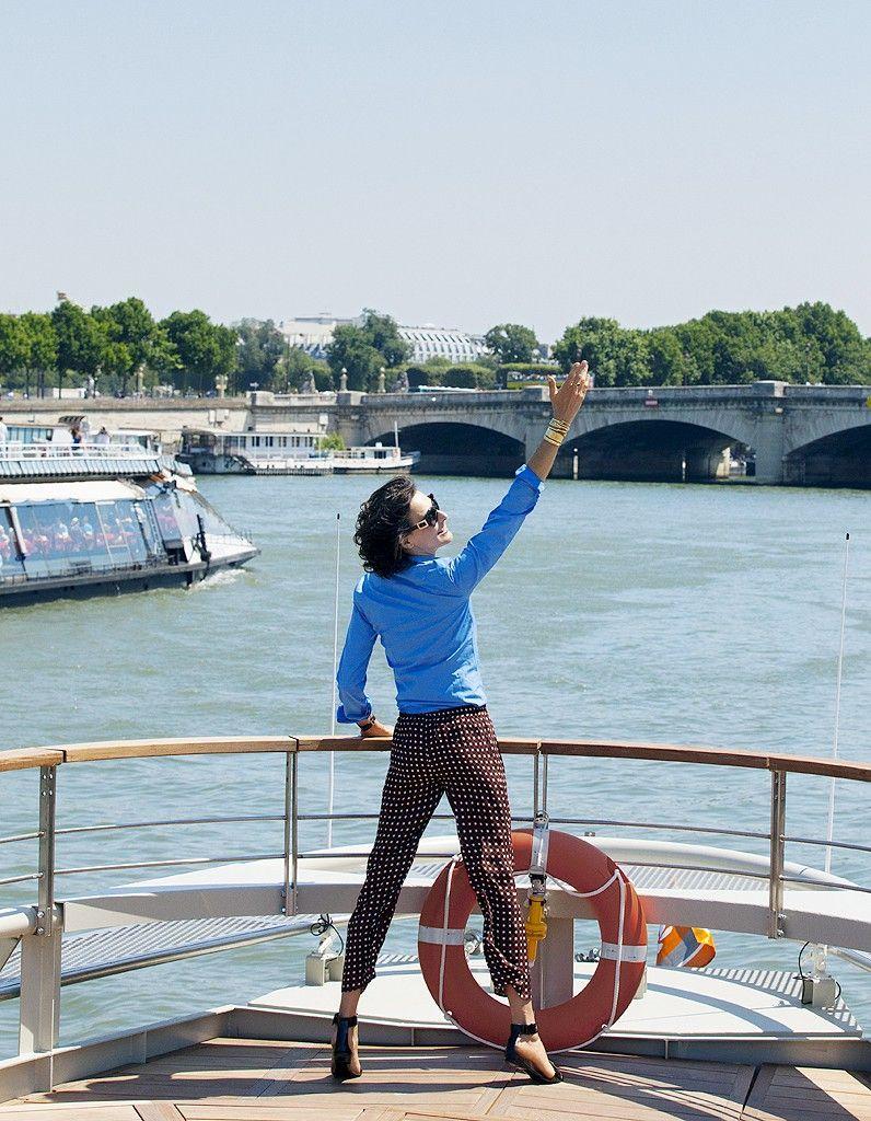 Le caf sur le port pour planter le d cor paris en ao t les bonnes adress - Paris les bonnes adresses ...