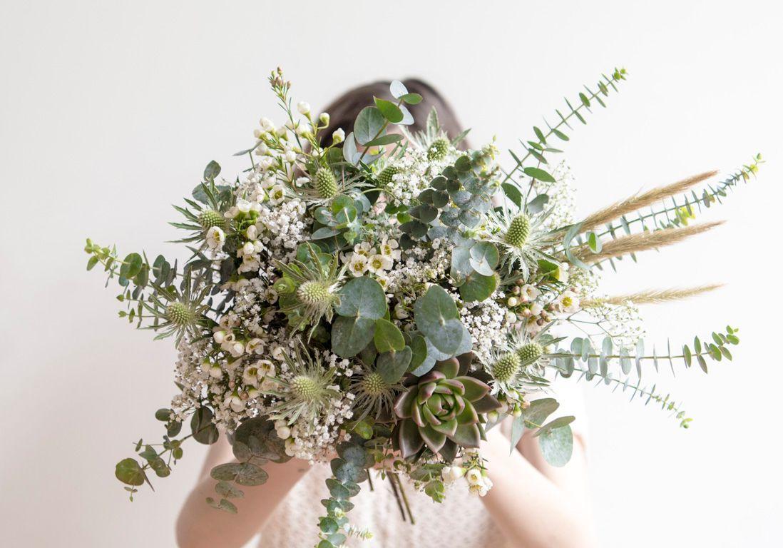 bouquet mariée champetre