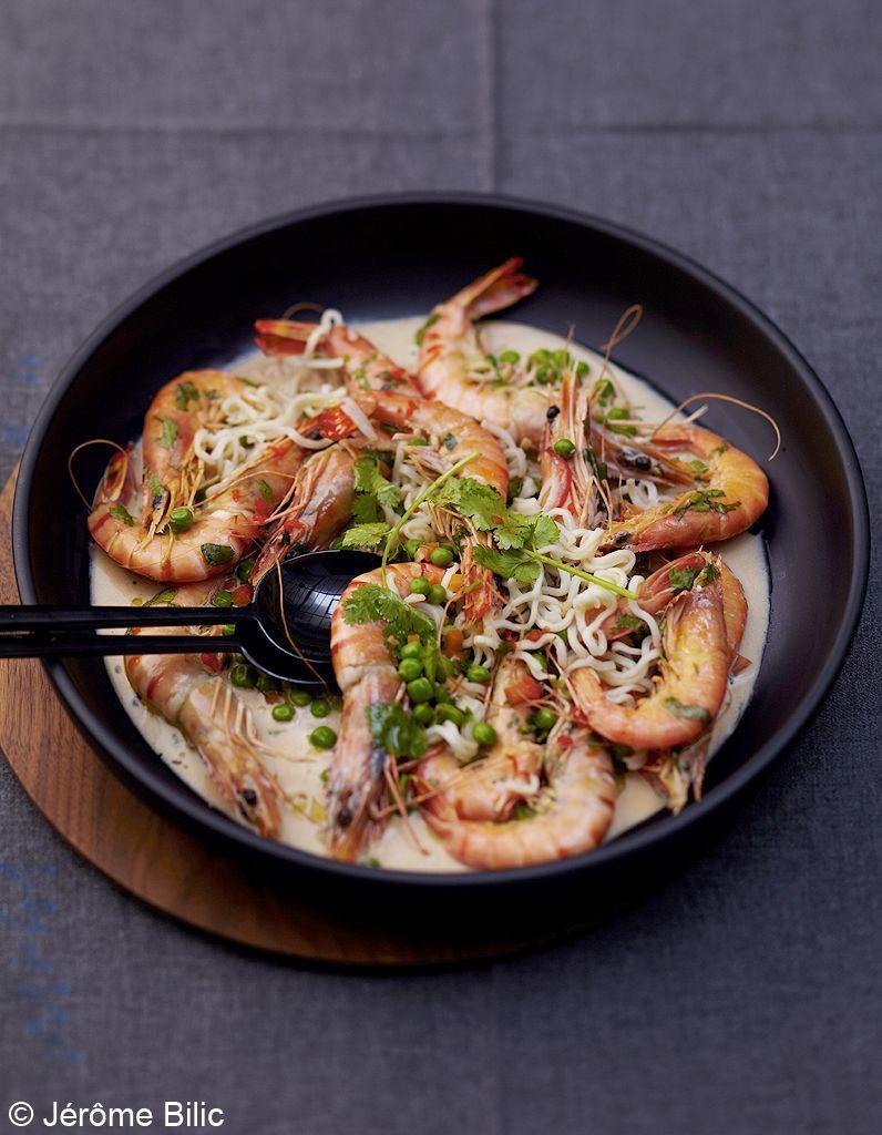 Crevettes-un-peu-thaies