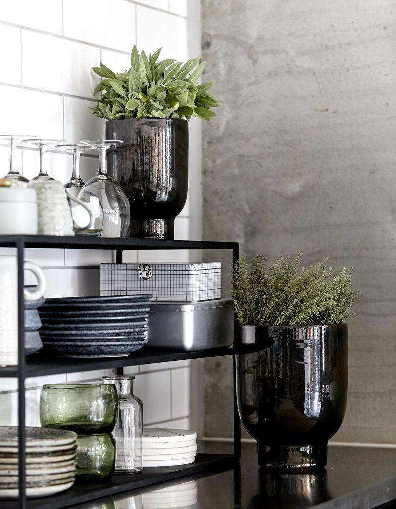 étagères design cuisine