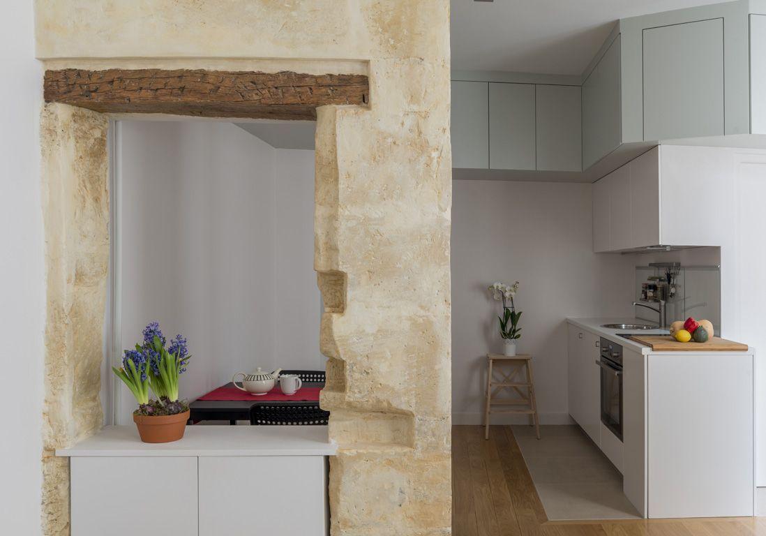 Kitchenette naturelle Earfeuil Bertina Rue des quatres vents