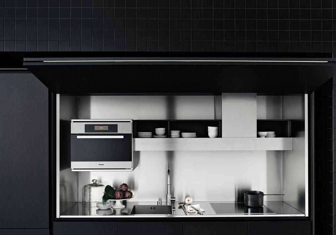 kitchenette noire