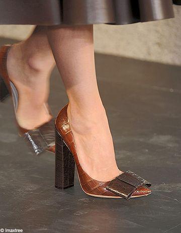 Escarpins : le luxe à vos pieds !