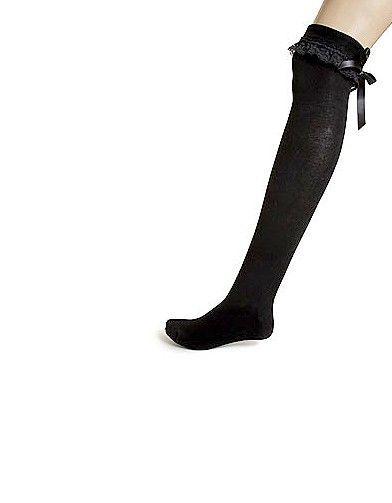 Mode tendance look shopping accessoires chaussettes hautes etam