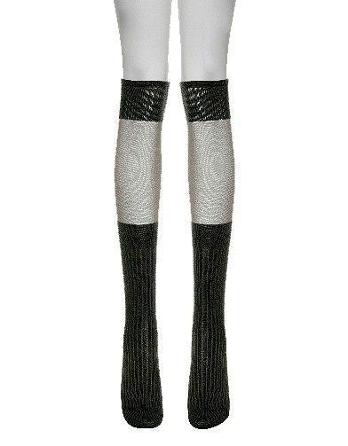 Mode tendance look shopping accessoires chaussettes hautes mytheresa