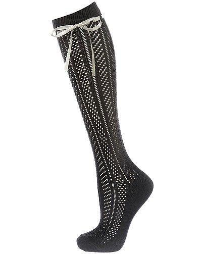 Mode tendance look shopping accessoires chaussettes hautes topshop