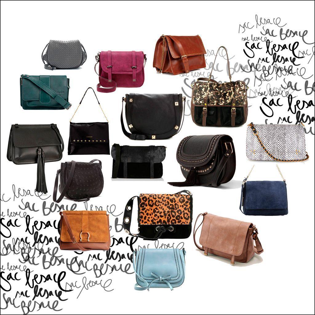 Un sac besace pour tout ranger avec style