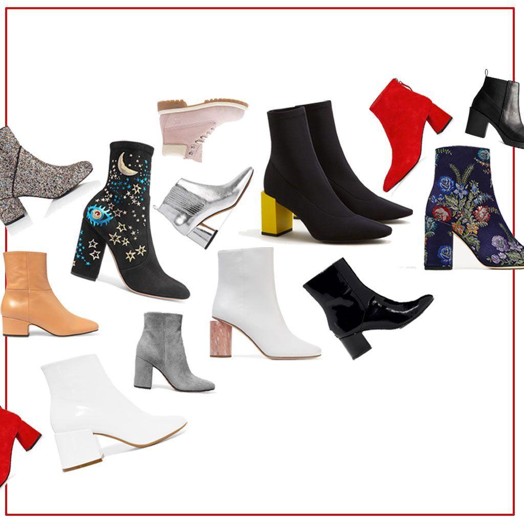 15 paires d'ankle boots pour mettre le monde à nos pieds