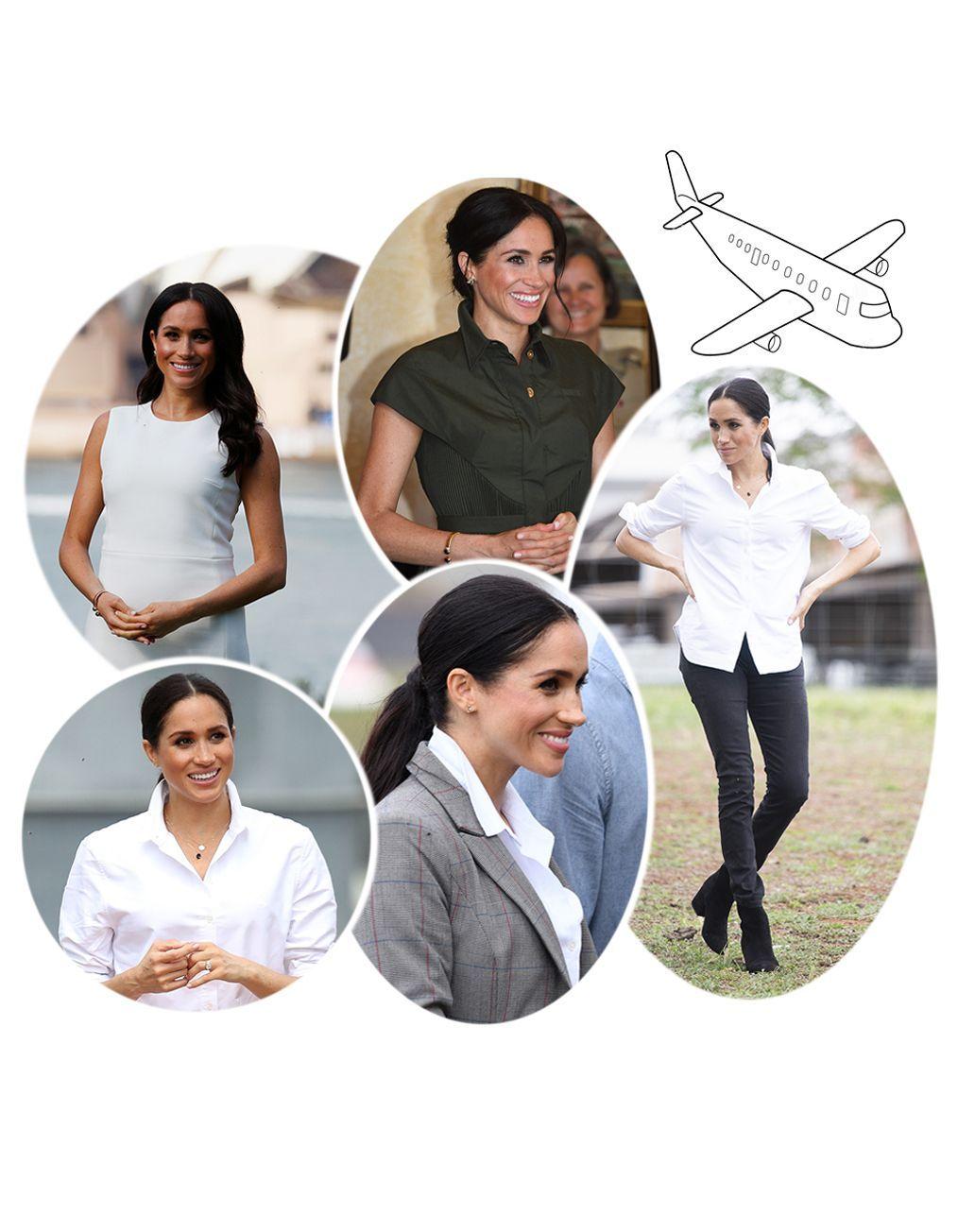 Meghan Markle : ses plus beaux looks pour son voyage officiel en Australie