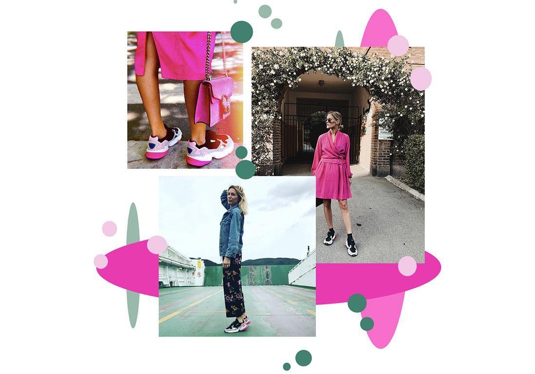 Cette paire de baskets envahit Instagram