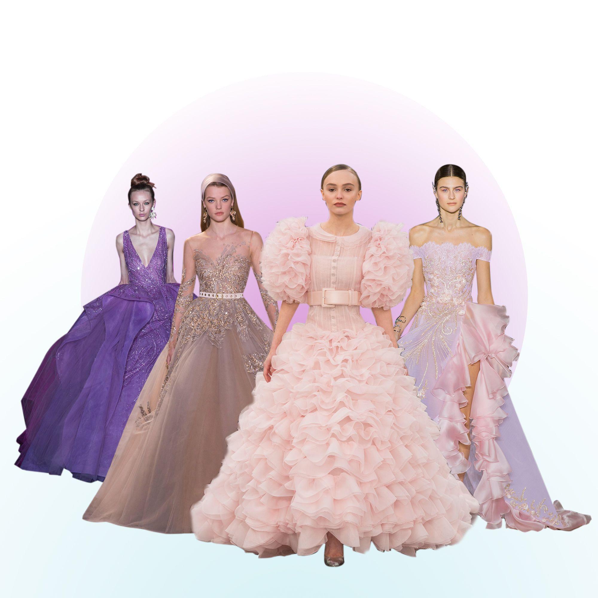 robe de bal les plus belles robes de bal vues sur les d fil s elle. Black Bedroom Furniture Sets. Home Design Ideas